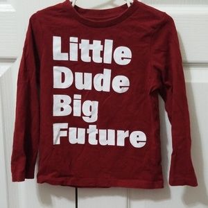 4 Boys Size 3T Long Sleeve T-shirts